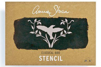 Stencil Classic Bird