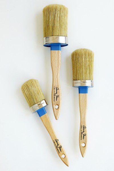 Ovale pensler til maling